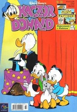Okładka książki Kaczor Donald nr. 38/97