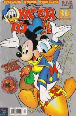 Okładka książki Kaczor Donald nr. 51-52/2000