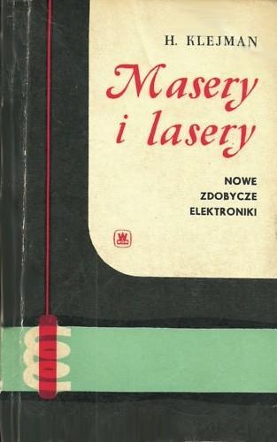 Okładka książki Masery i lasery