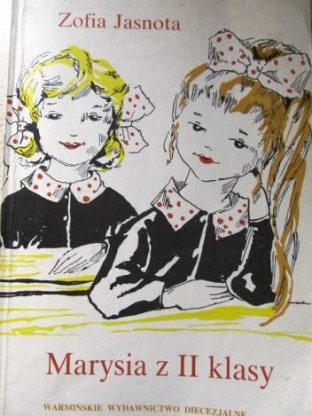 Okładka książki Marysia z II klasy