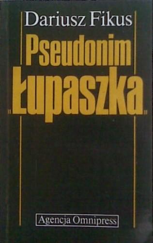 Okładka książki Pseudonim