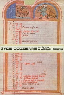 Okładka książki Życie codzienne na Śląsku w wiekach średnich