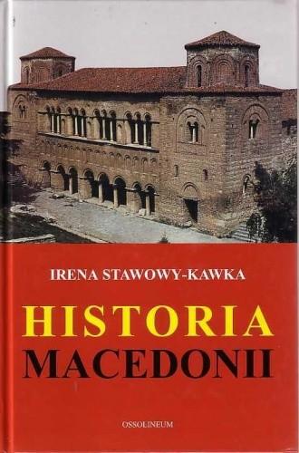 Okładka książki Historia Macedonii