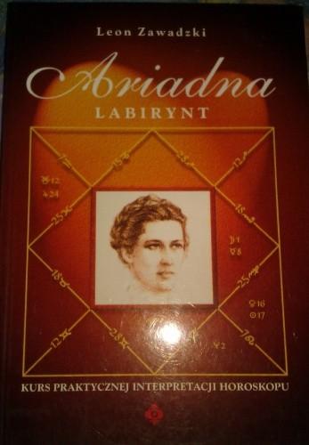 Okładka książki ARIADNA LABIRYNT
