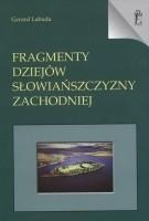 Okładka książki Fragmenty dziejów Słowiańszczyzny Zachodniej
