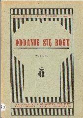 Okładka książki Oddanie się Bogu