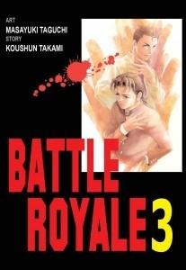 Okładka książki Battle Royale 3
