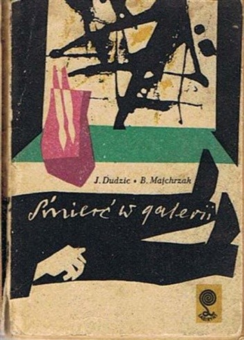 Okładka książki Śmierć w galerii