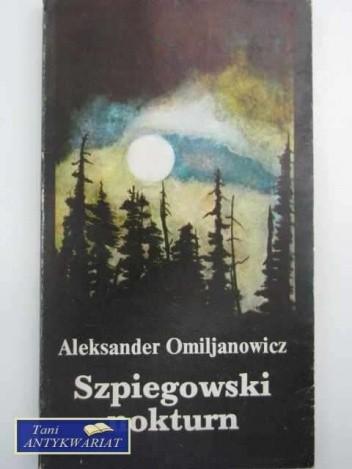Okładka książki Szpiegowski nokturn