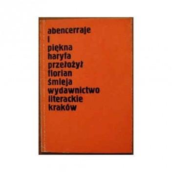 Okładka książki Abencerraje i piękna Haryfa