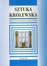 Okładka książki Sztuka królewska: Historia i myśl wolnomularstwa na przestrzeni dziejów