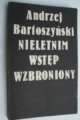 Okładka książki Nieletnim wstęp wzbroniony