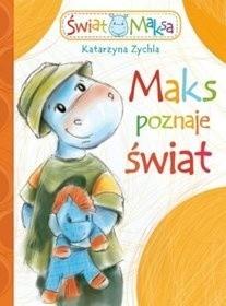 Okładka książki Maks poznaje świat