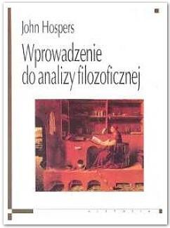 Okładka książki Wprowadzenie do analizy filozoficznej