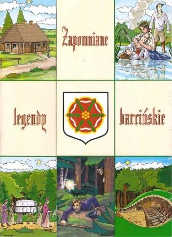 Okładka książki Zapomniane legendy barcińskie