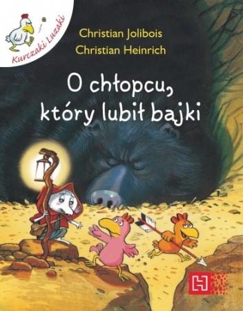 Okładka książki O chłopcu, który lubił bajki