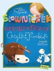 Okładka książki Słowniczek ortograficzny Cecylki Knedelek