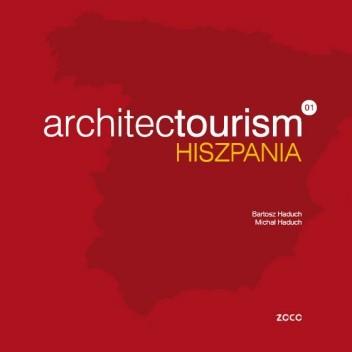 Okładka książki architectourism 01 HISZPANIA