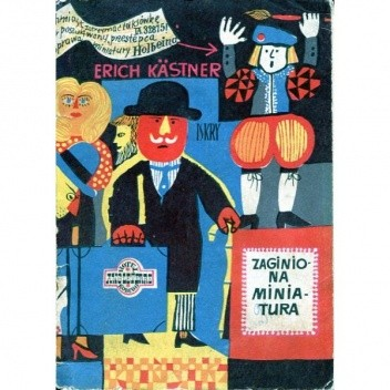 Okładka książki Zaginiona miniatura