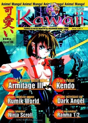 Okładka książki Kawaii nr 6 (styczeń 1998)