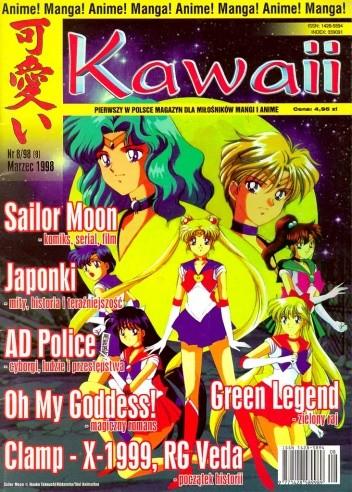 Okładka książki Kawaii nr 8 (marzec 1998)