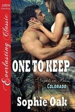 Okładka książki One To Keep
