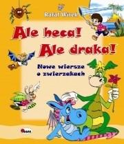 Okładka książki Ale heca! Ale draka! Nowe wiersze o zwierzakach