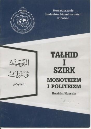 Okładka książki Tałhid i szirk. Monoteizm i politeizm