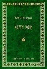 Okładka książki Kuzyn Pons