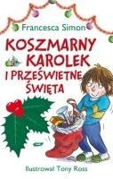 Okładka książki Koszmarny Karolek i prześwietne święta