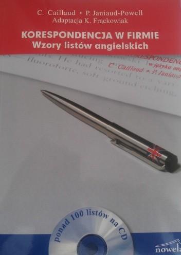 Okładka książki Korespondencja w firmie : Wzory listów angielskich + CD