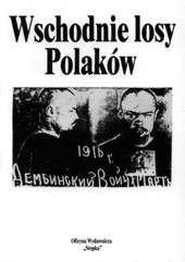 Okładka książki Wschodnie losy Polaków 1