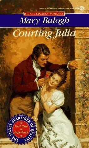 Okładka książki Courting Julia