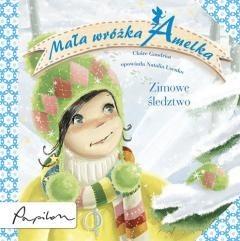 Okładka książki Mała wróżka Amelka. Zimowe śledztwo