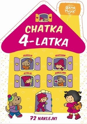 Okładka książki Chatka 4-latka