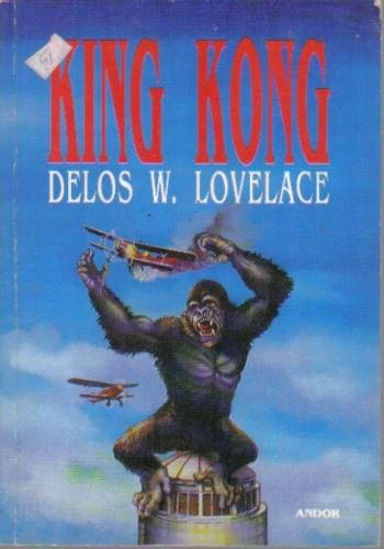 Okładka książki King Kong
