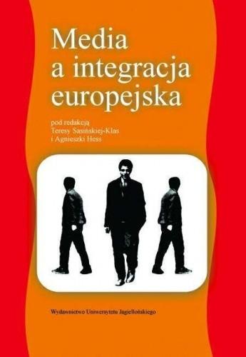 Okładka książki Media a integracja europejska