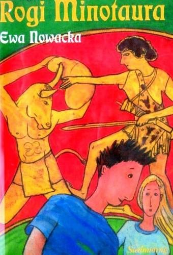 Okładka książki Rogi Minotaura