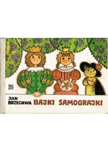 Okładka książki Bajki samograjki