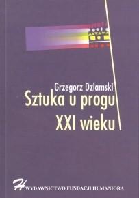 Okładka książki Sztuka u progu XXI wieku