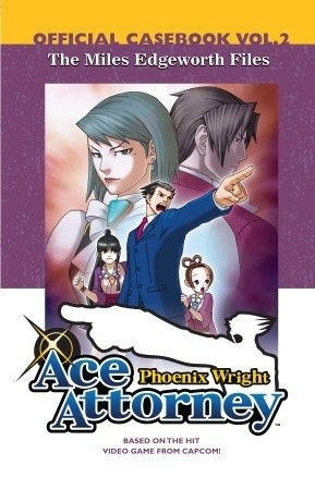Okładka książki Ace Attorney - The Miles Edgeworth Files