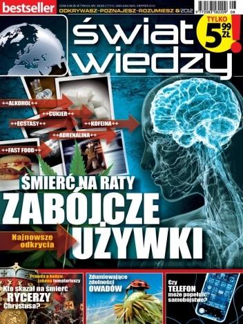 Okładka książki Świat Wiedzy (8/2012)