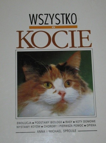 Okładka książki Wszystko o kocie