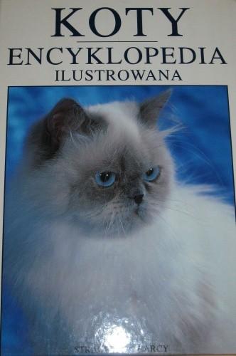 Okładka książki Koty encyklopedia ilustrowana