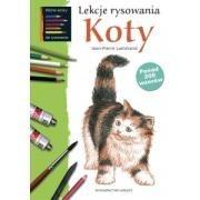 Okładka książki Lekcje rysowania. Koty