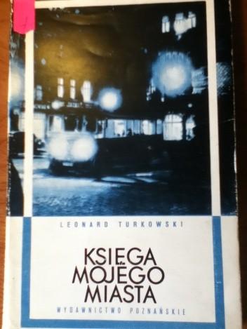 Okładka książki Księga mojego miasta