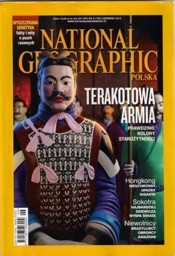 Okładka książki National Geographic 6 (153) / 2012