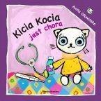 Okładka książki Kicia Kocia jest chora