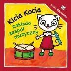Okładka książki Kicia Kocia zakłada zespół muzyczny