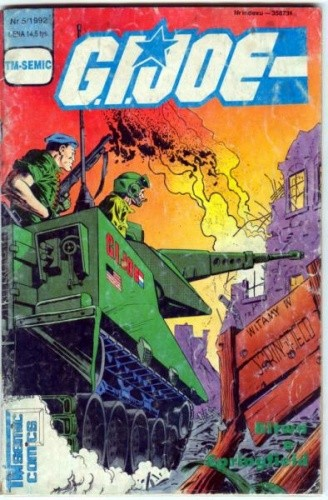 Okładka książki G.I. Joe 5/1992